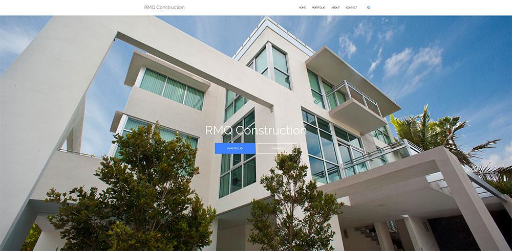 RMQConstruction Website